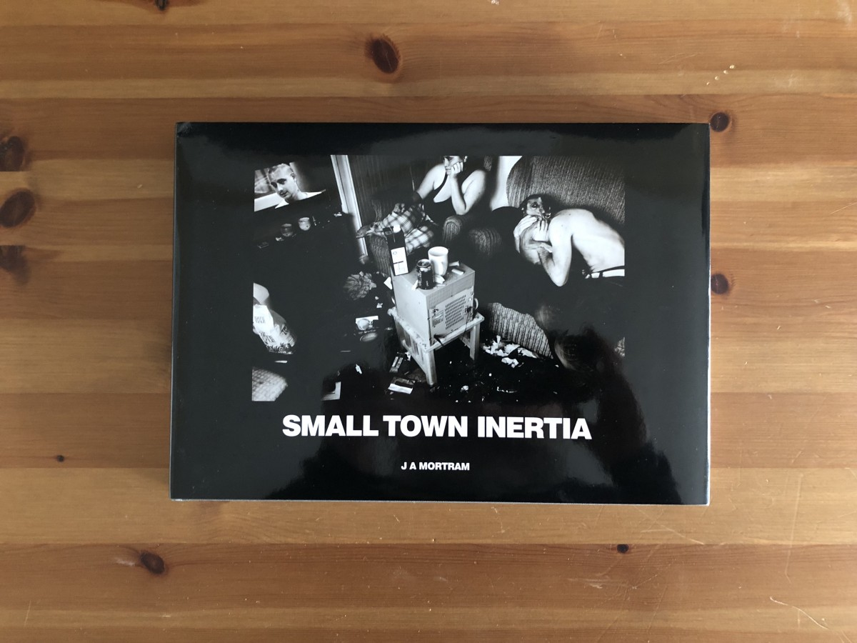 Small Town Inertia book cover.